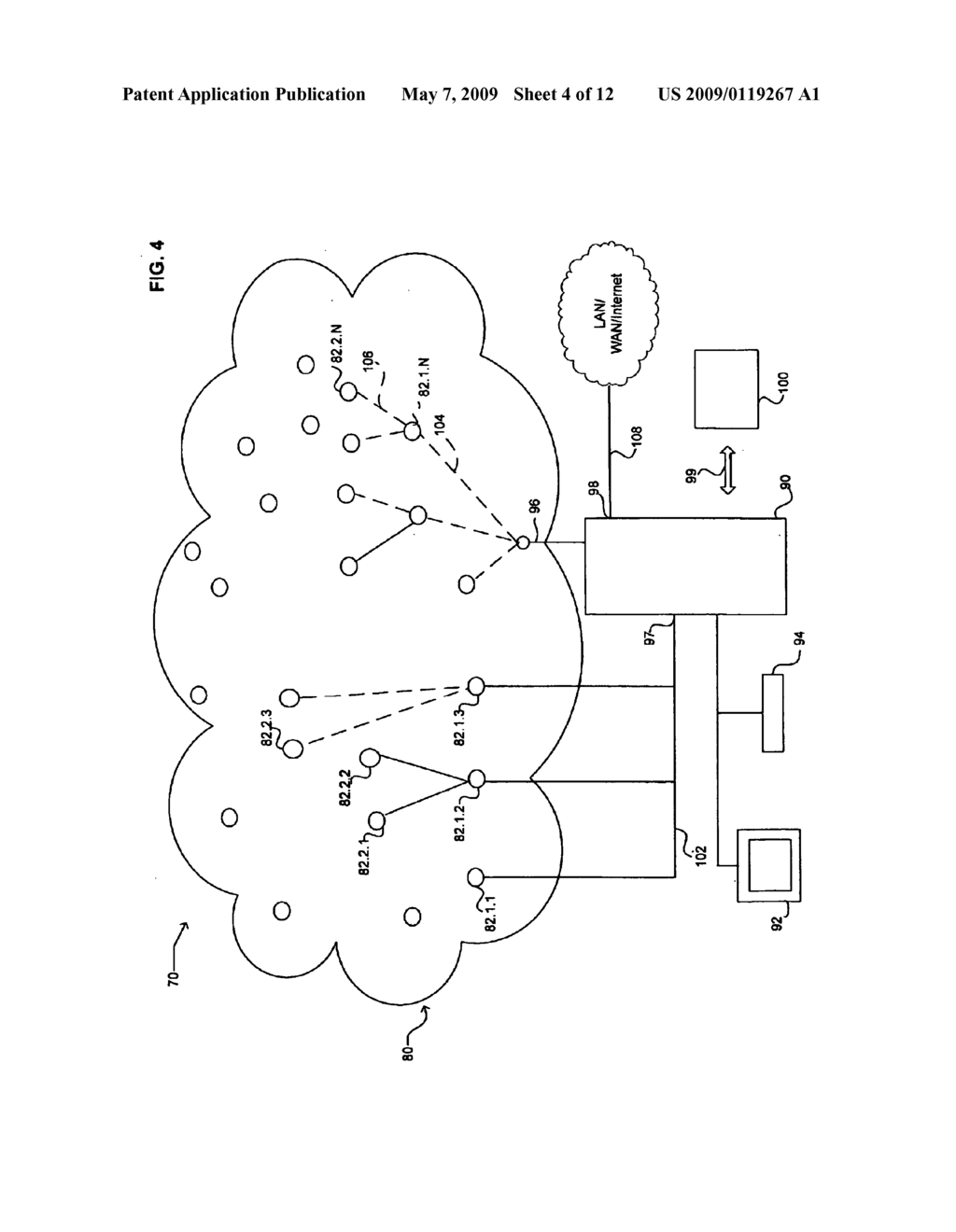 Aggregation and retrieval of network sensor data - diagram, schematic, and image 05
