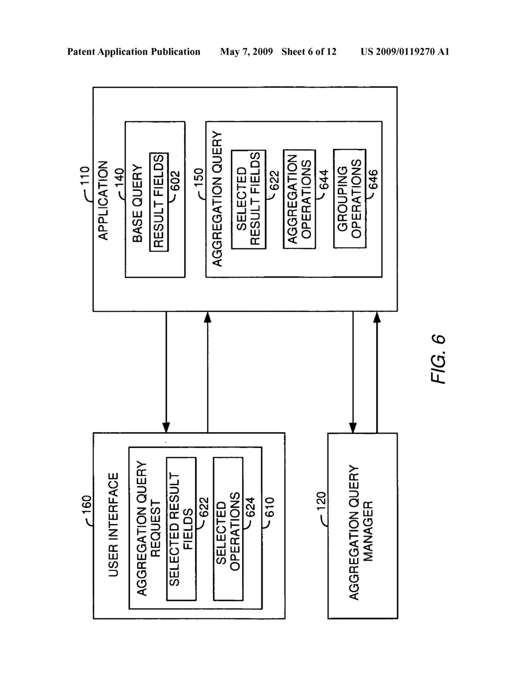 ABSTRACT QUERY BUILDING WITH SELECTABILITY OF AGGREGATION OPERATIONS AND GROUPING - diagram, schematic, and image 07