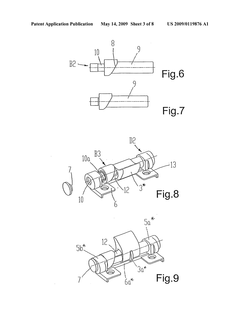 Furniture Hinge with Equipment - diagram, schematic, and image 04