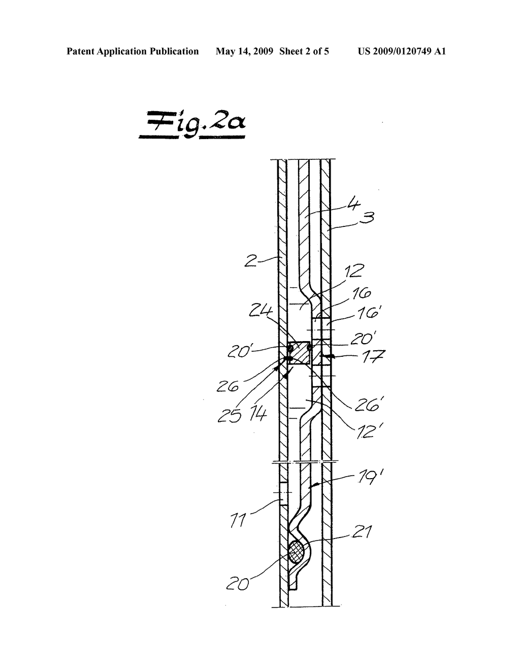 Vibration damper and method for the production of a three-pipe system for a vibration damper - diagram, schematic, and image 03