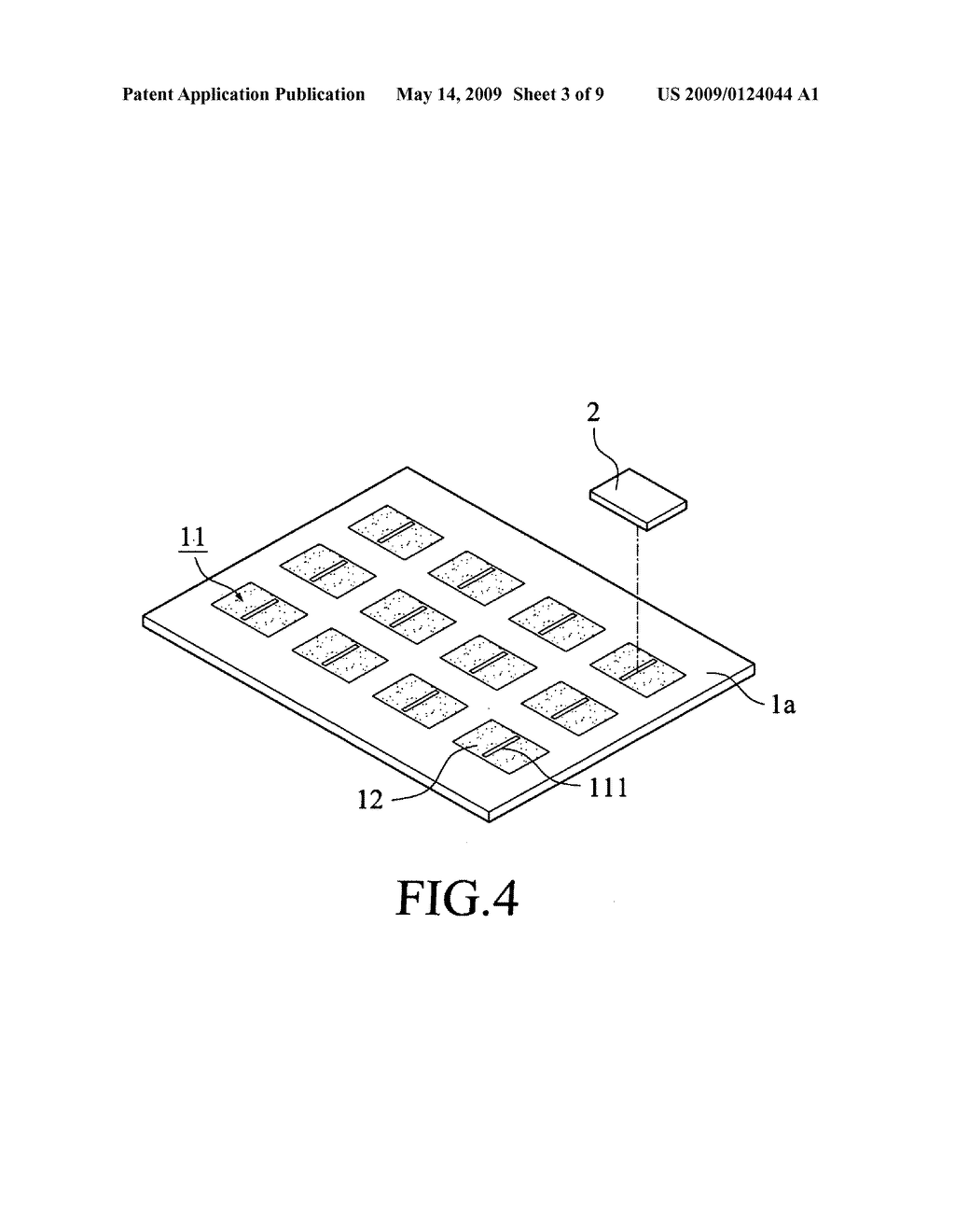 Method for removing bubbles from adhesive layer of semiconductor chip package - diagram, schematic, and image 04