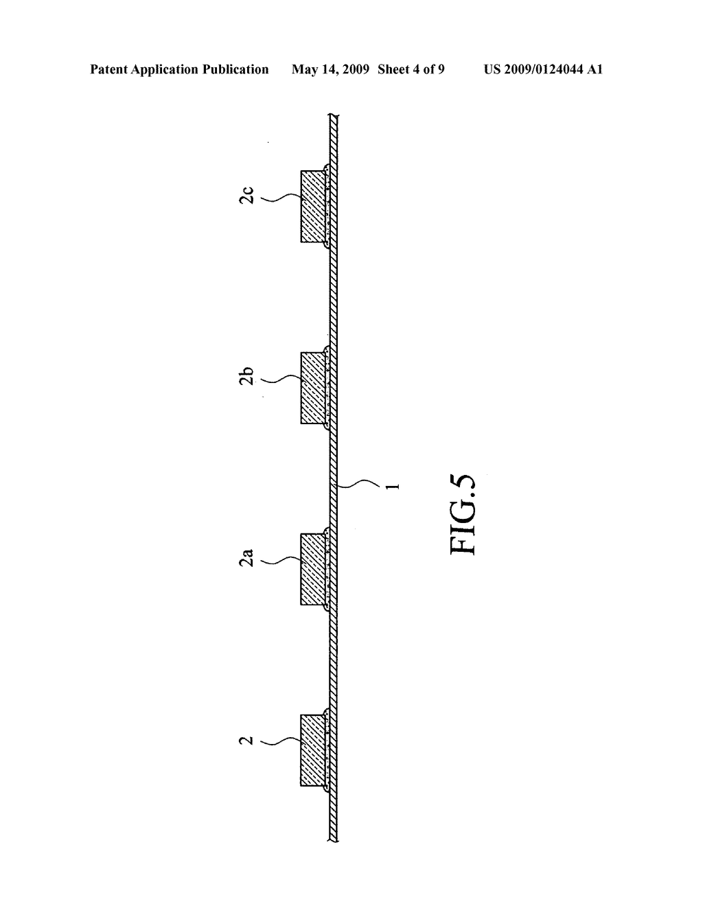 Method for removing bubbles from adhesive layer of semiconductor chip package - diagram, schematic, and image 05