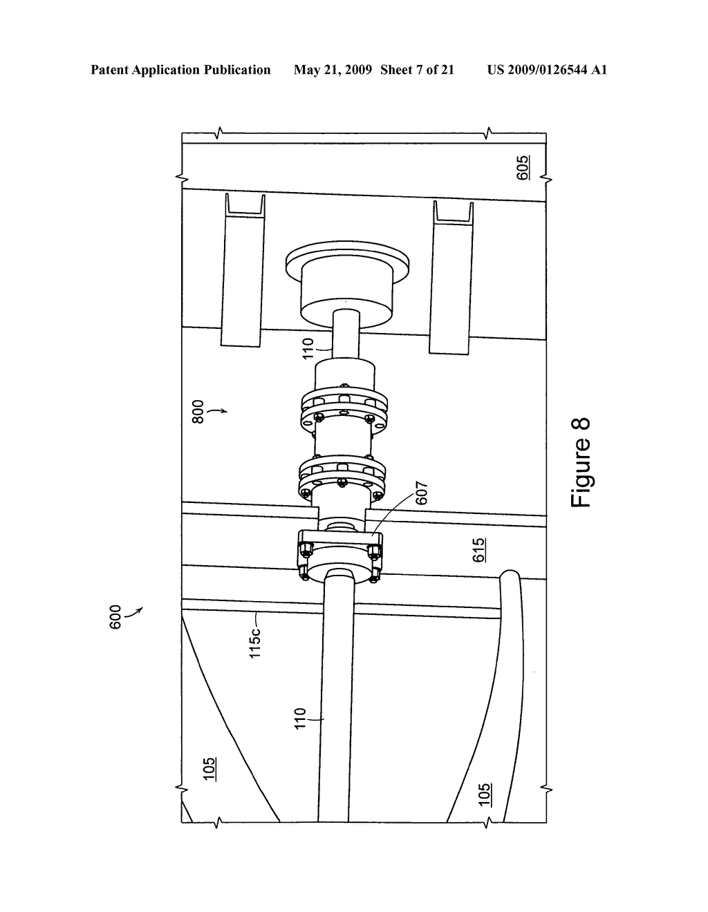 High efficiency turbine and method of making the same - diagram, schematic, and image 08