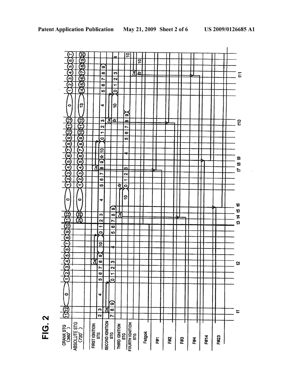 Ignition control apparatus and method for controlling ignition of a four-cylinder  engine - diagram, schematic, and image 03