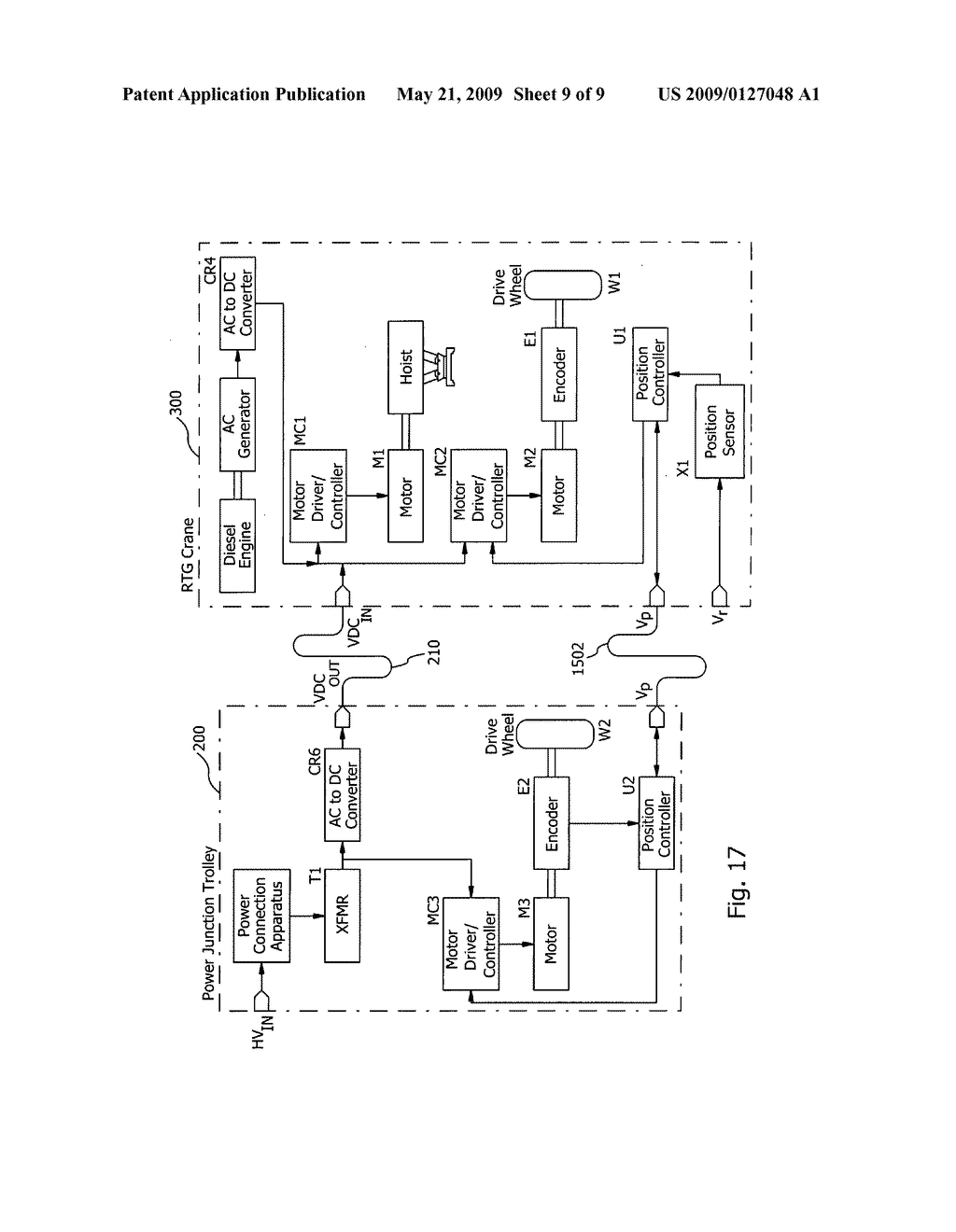 Ship Crane Electrical Diagram Wiring Libraries Ac To Dc Converter Trusted Diagramrubber Tire Gantry With Shore Power Schematic