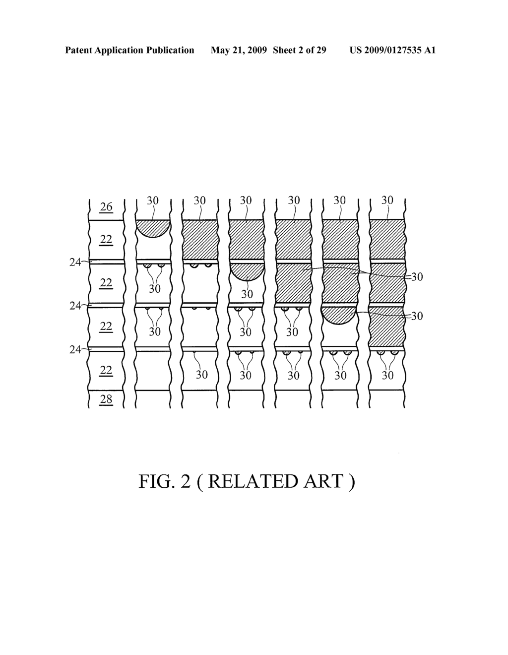 PHASE CHANGE MEMORY ELEMENT AND METHOD FOR FABRICATING THE SAME - diagram, schematic, and image 03