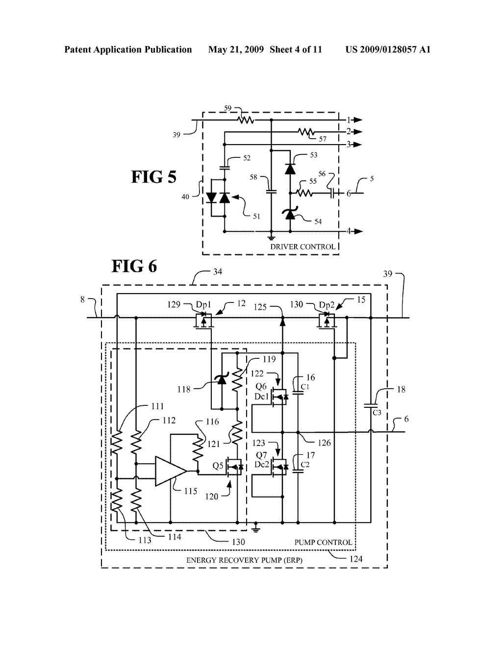 FLUORESCENT LAMP AND BALLAST WITH BALANCED ENERGY RECOVERY PUMP - diagram, schematic, and image 05