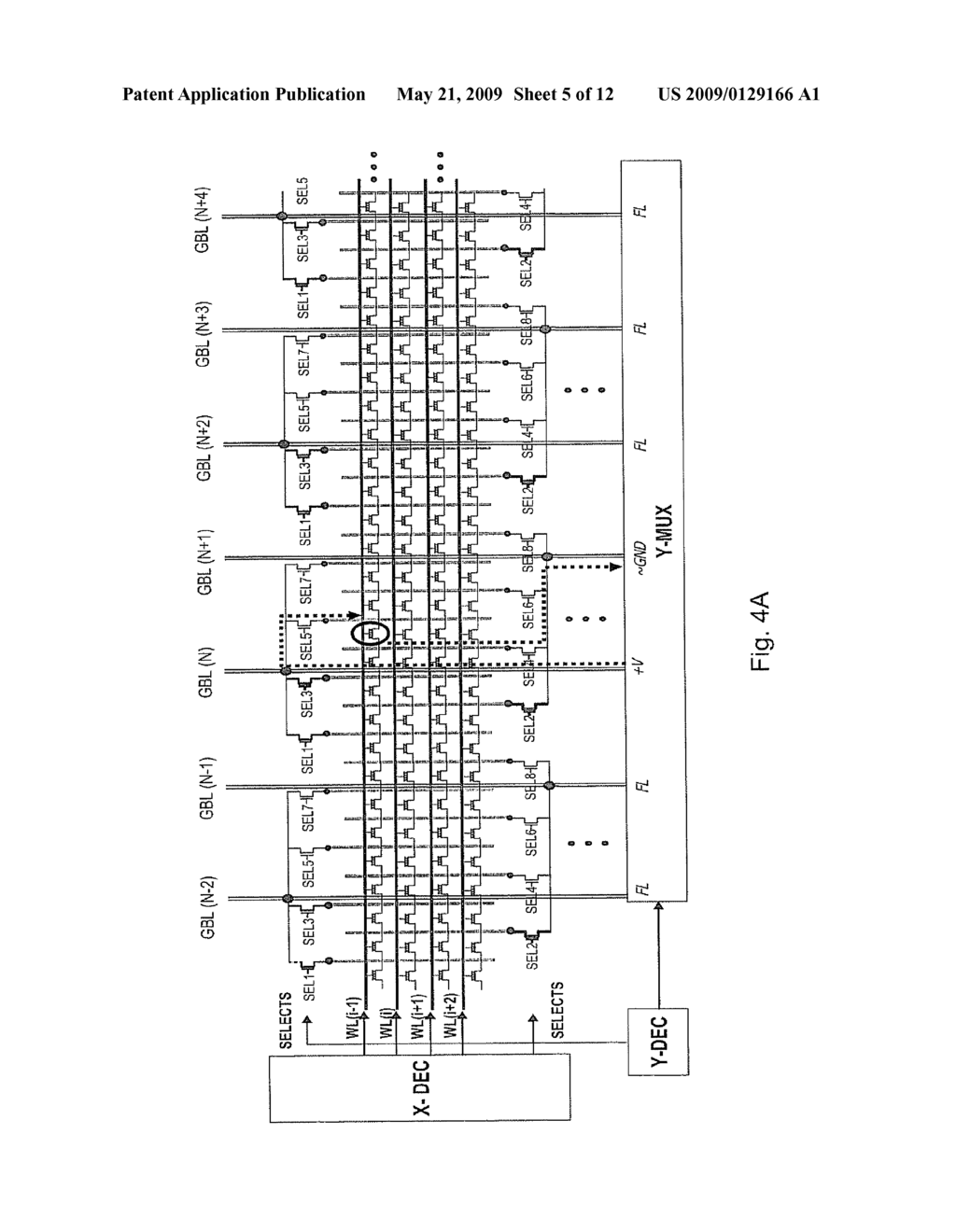 METHOD, CIRCUIT AND SYSTEM FOR SENSING A CELL IN A NON-VOLATILE MEMORY ARRAY - diagram, schematic, and image 06