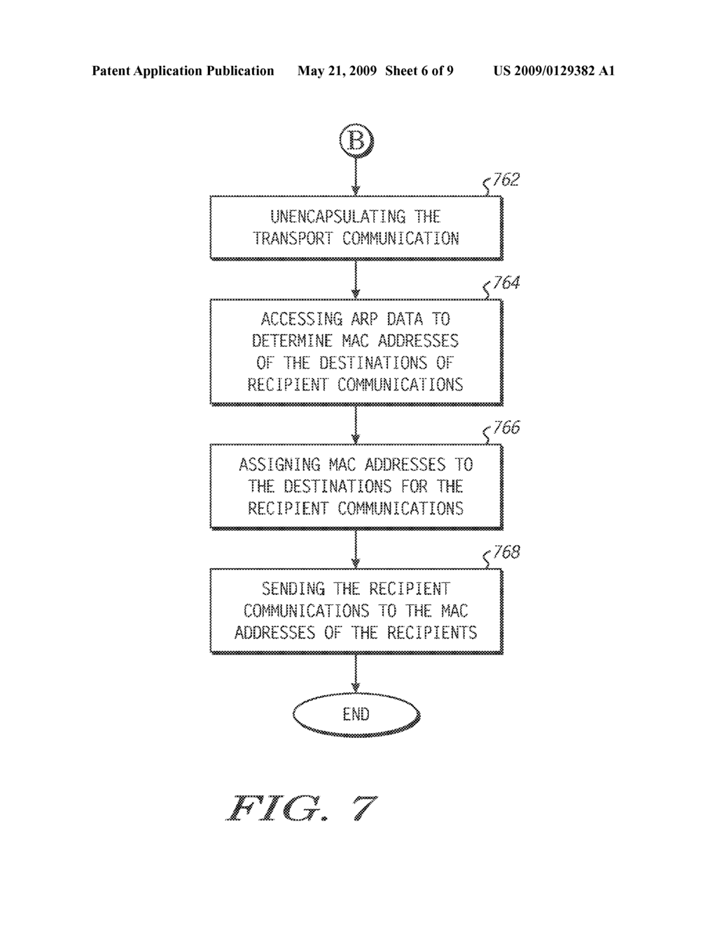 Method and System of Routing a Communication within a Network - diagram, schematic, and image 07