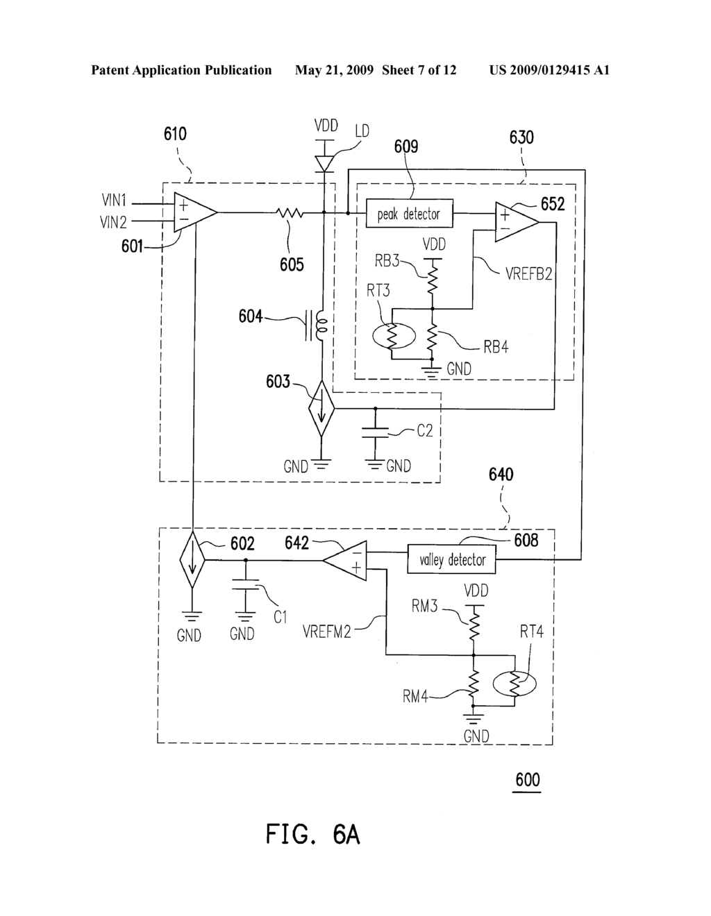 Light Transmitter And Automatic Power Control Circuit Thereof Diagram Schematic Image 08