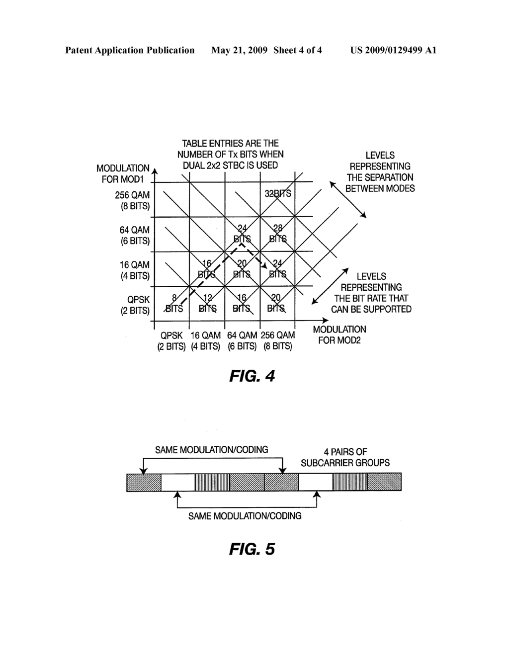 METHOD AND APPARATUS FOR IMPLEMENTING SPACE FREQUENCY BLOCK CODING