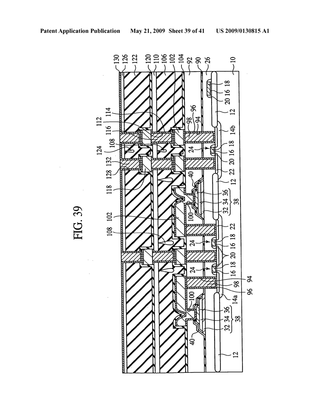 Semiconductor device and method for fabricating the same - diagram, schematic, and image 40