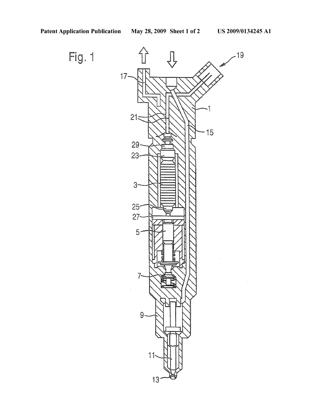 Piezoelectric Actuator And Injector Comprising A Internal Combustion Engine Diagram For An Schematic Image 02