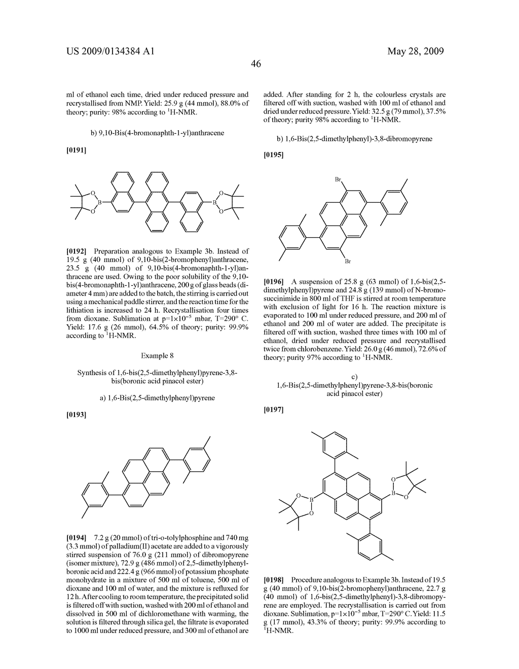 ORGANIC ELECTROLUMINESCENT DEVICE AND BORIC ACID AND BORINIC ACID DERIVATIVES USED THEREIN - diagram, schematic, and image 48