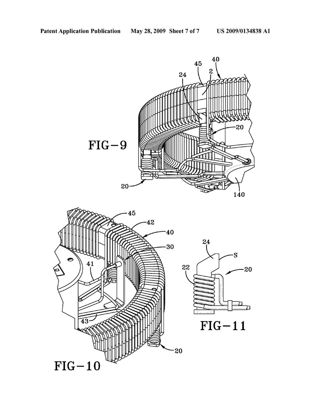 Circular Self-powered Magnetic