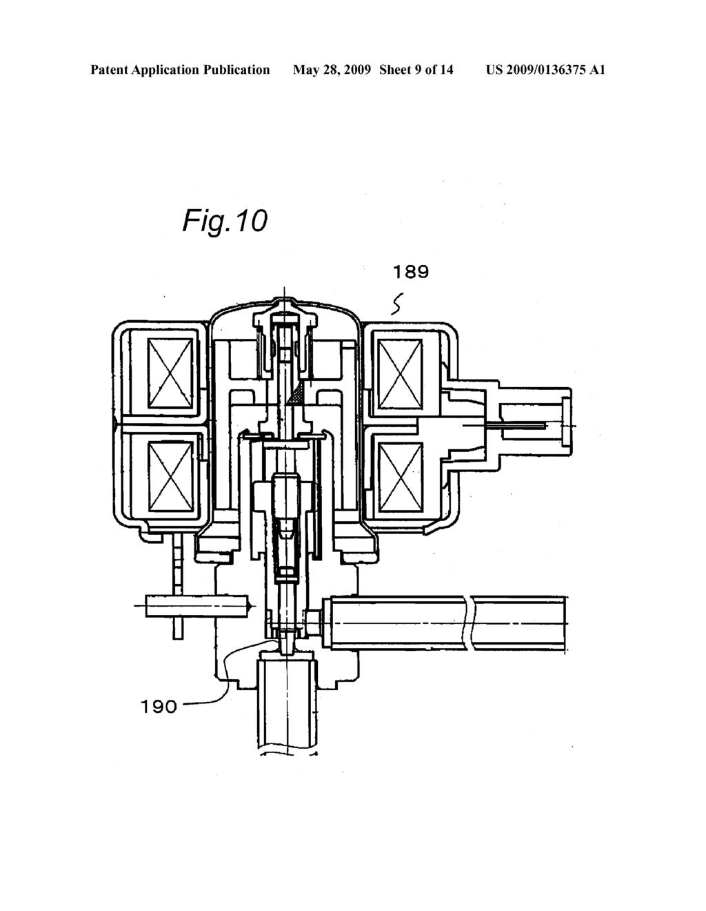 Refrigerant Compressor Cooling System And Refrigerator Diagram Schematic Image 10