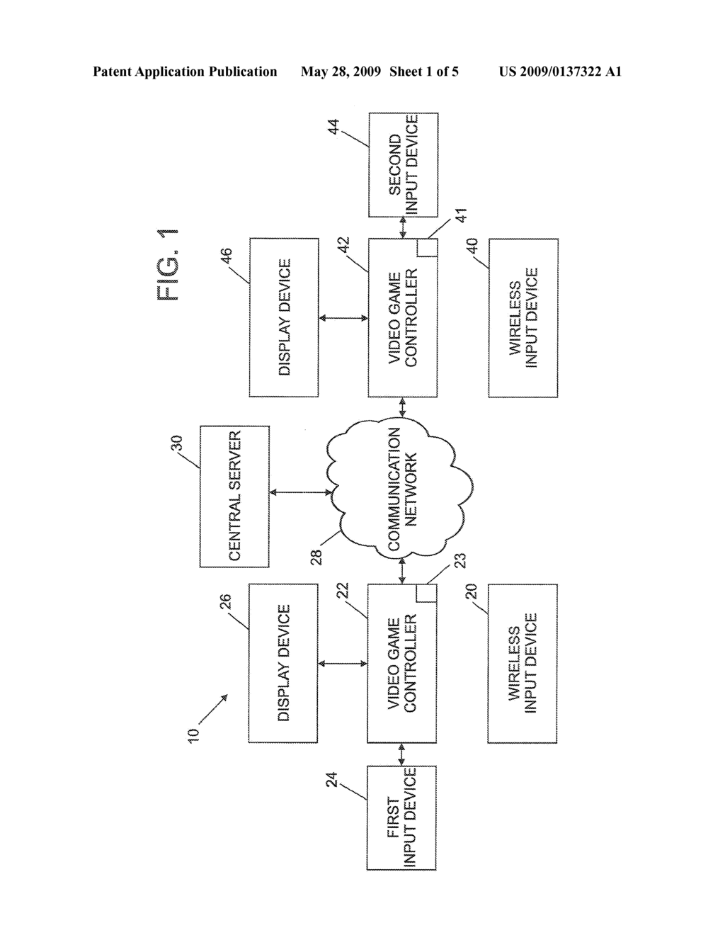 METHOD FOR STORING DATA ASSOCIATED WITH A VIDEO GAME - diagram, schematic, and image 02