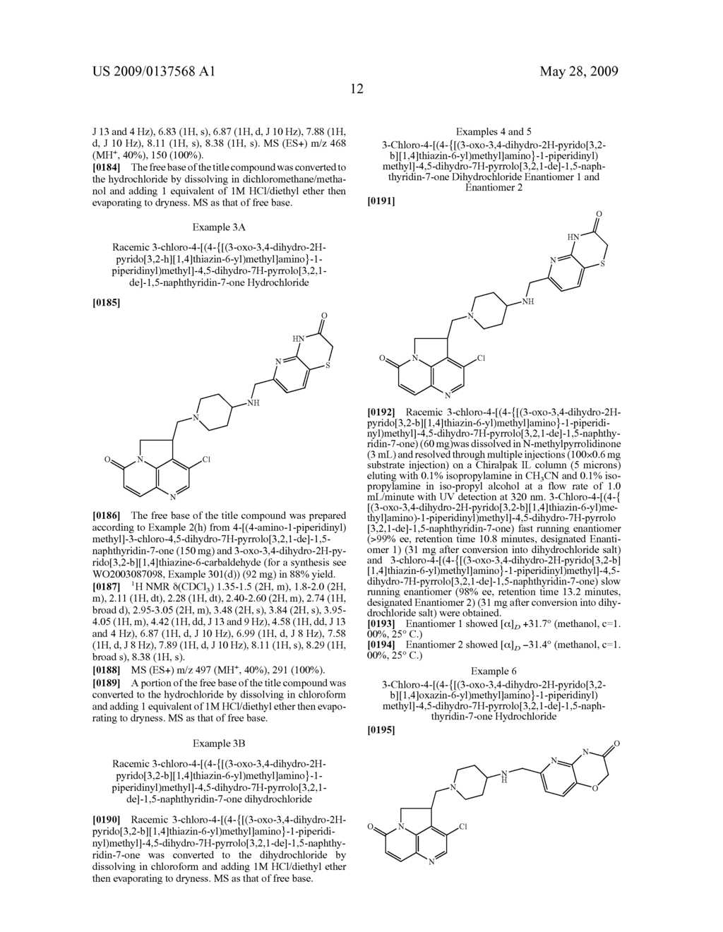 Tryclic Nitrogen Containing Compounds and their Use as Antibacterials - diagram, schematic, and image 13