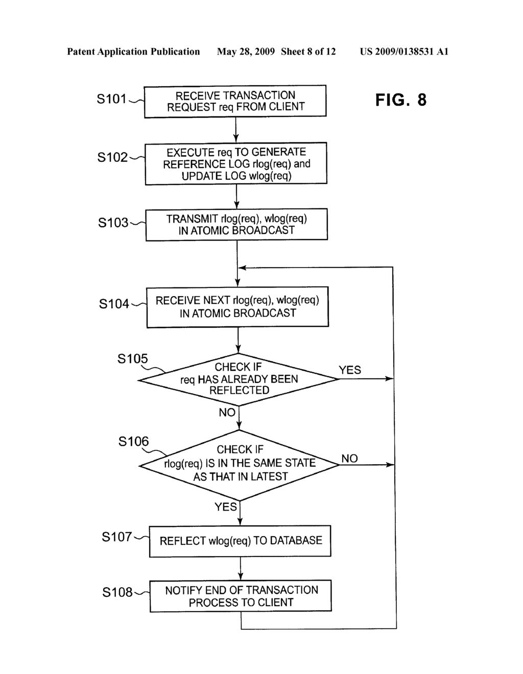 SYSTEM AND METHOD FOR PROCESSING FAULT TOLERANT TRANSACTION - diagram, schematic, and image 09