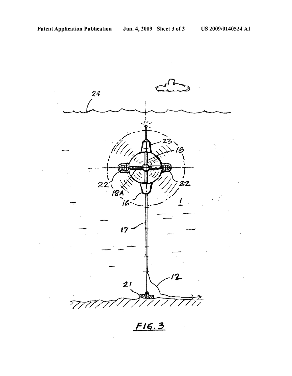 Deployable Submarine Hydroelectric Generator For Sea Currents Energy Diagram Harvesting Schematic And Image 04