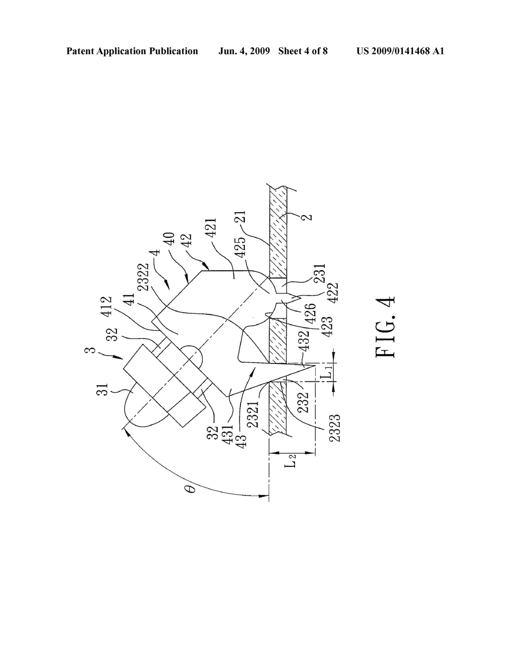 LIGHT EMITTING ASSEMBLY AND METHOD FOR ASSEMBLING THE SAME - diagram, schematic, and image 05