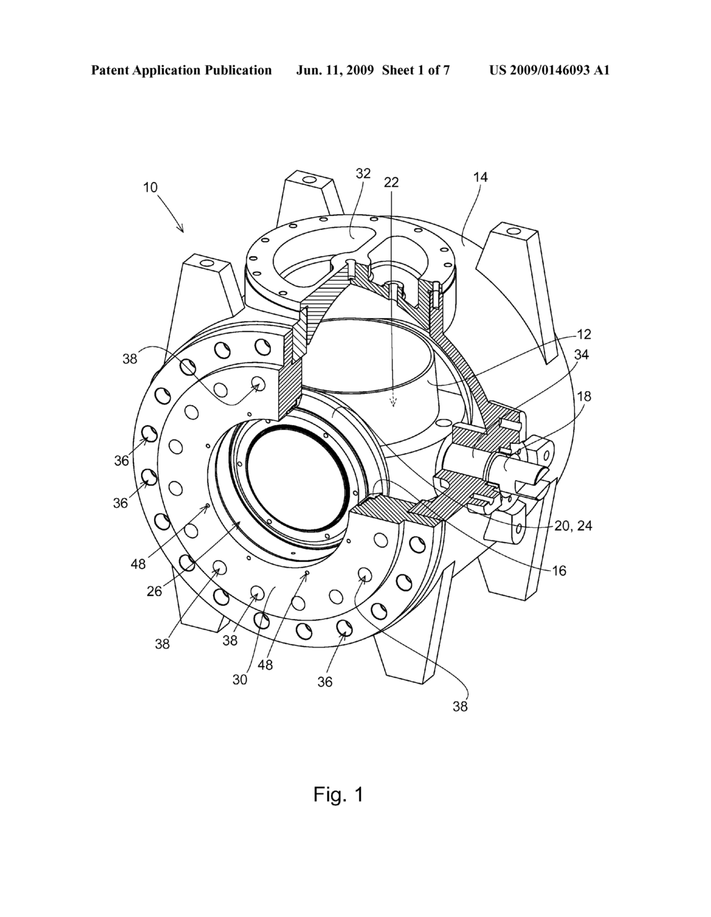 ball valve housing seat and method of securing the same to a ball valve -  diagram, schematic, and image 02