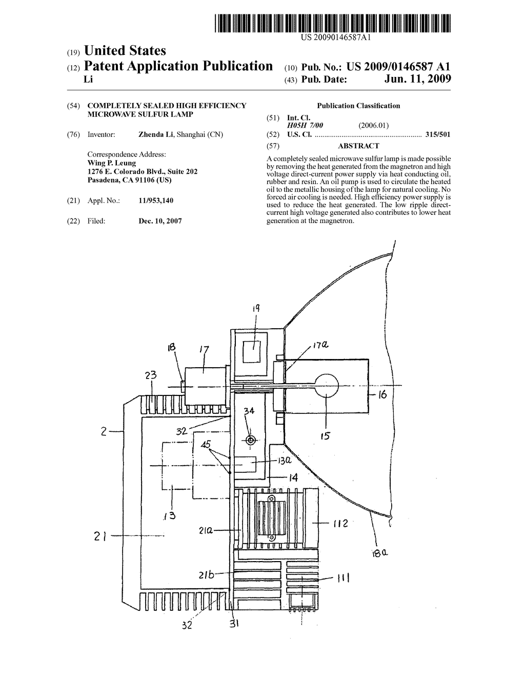 Completely Sealed High Efficiency Microwave Sulfur Lamp Diagram Wiring Schematic And Image 01