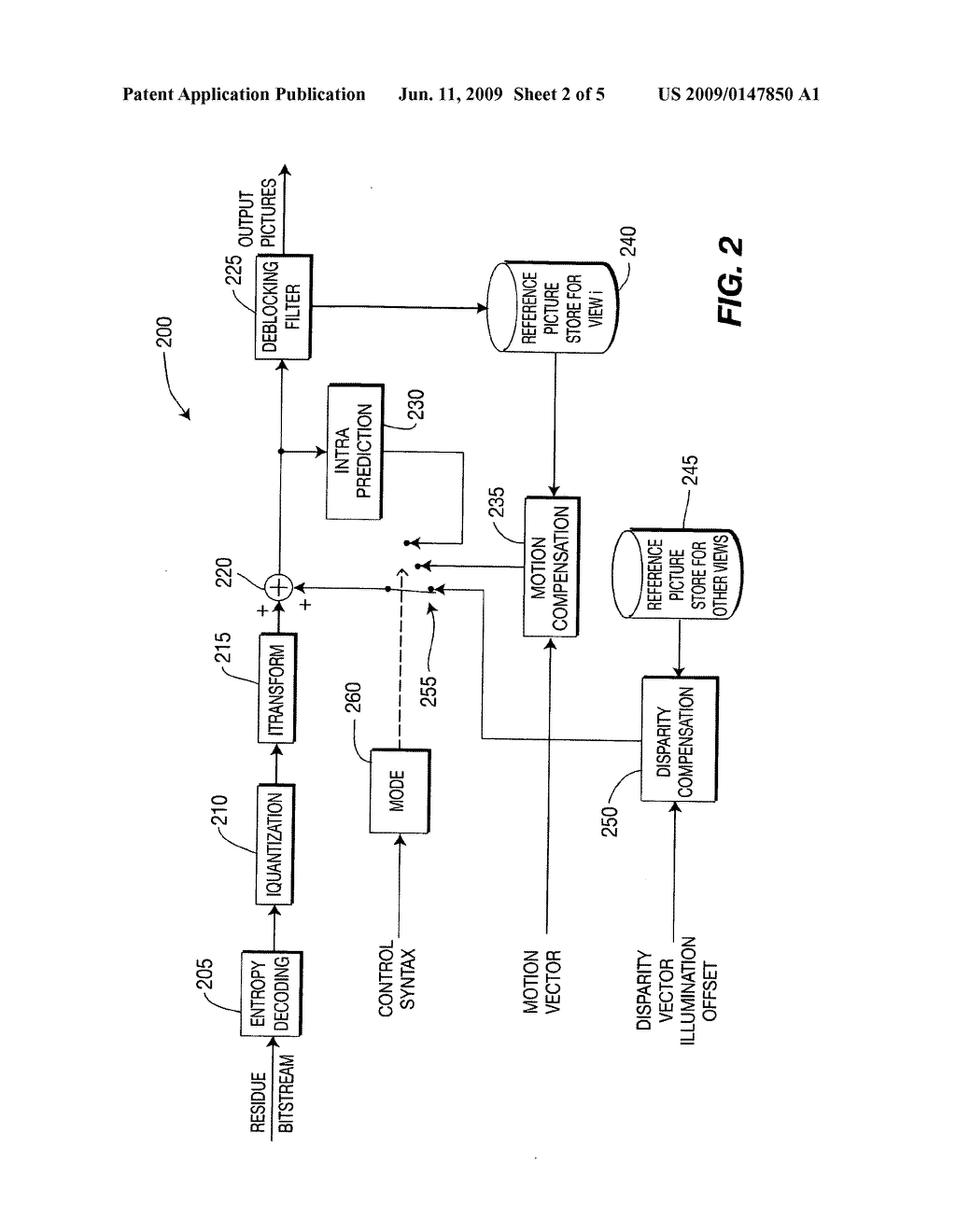 Methods and apparatus for decoded picture buffer (DPB) management in single loop decoding for multi-view video - diagram, schematic, and image 03
