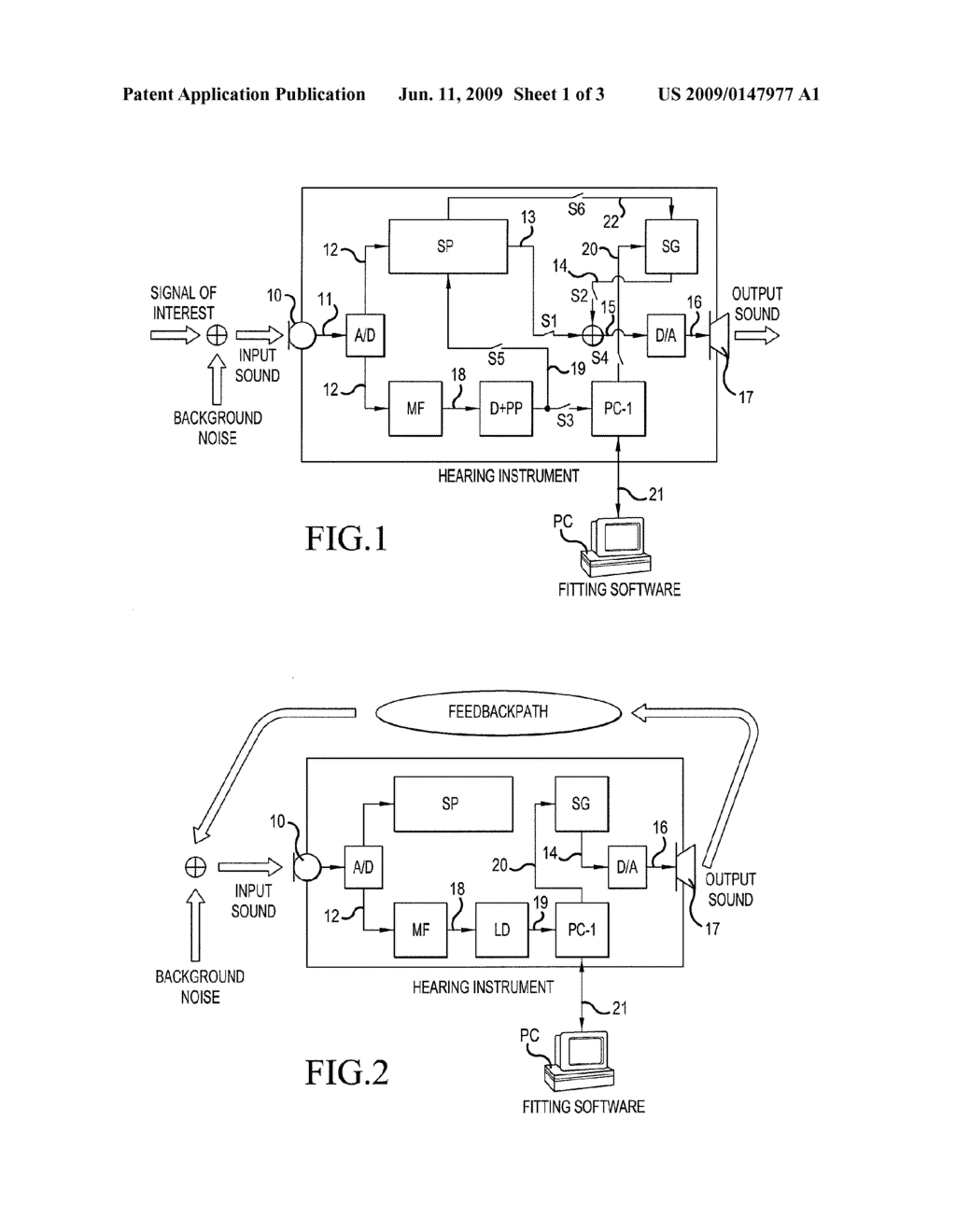 HEARING AID SYSTEM COMPRISING A MATCHED FILTER AND A MEASUREMENT METHOD - diagram, schematic, and image 02