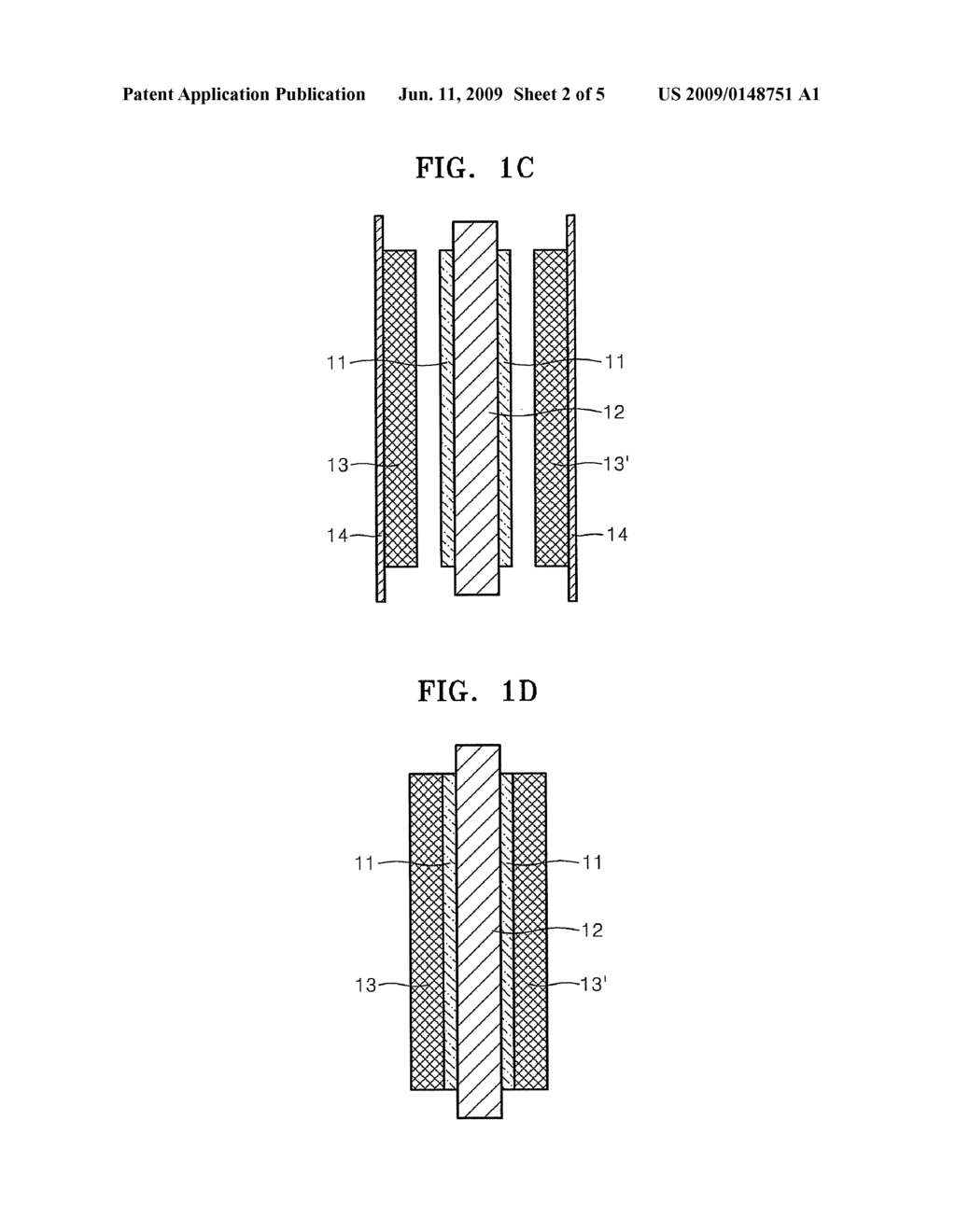 MEMBRANE ELECTRODE ASSEMBLY FOR FUEL CELL, AND METHOD OF MANUFACTURING THE SAME - diagram, schematic, and image 03