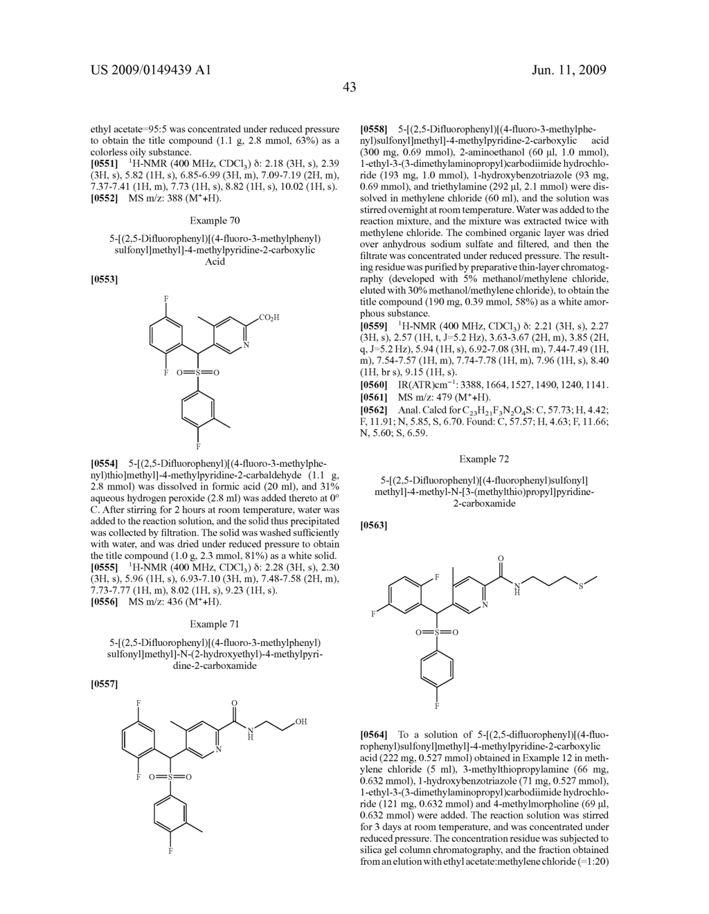 PYRIDYLMETHYSULFONE DERIVATIVE - diagram, schematic, and image 44
