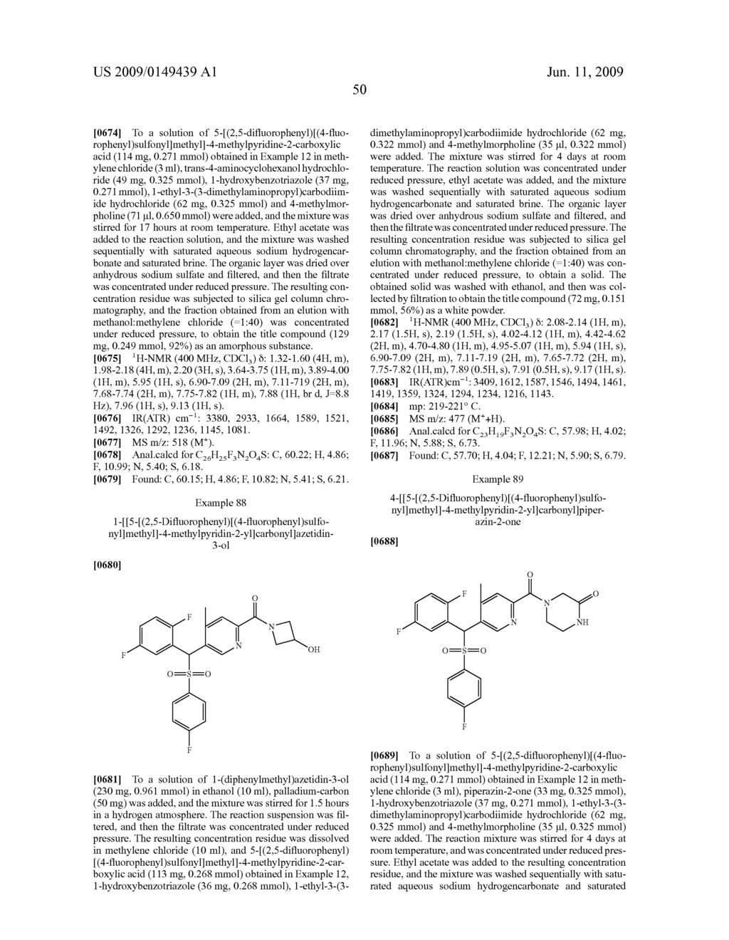 PYRIDYLMETHYSULFONE DERIVATIVE - diagram, schematic, and image 51