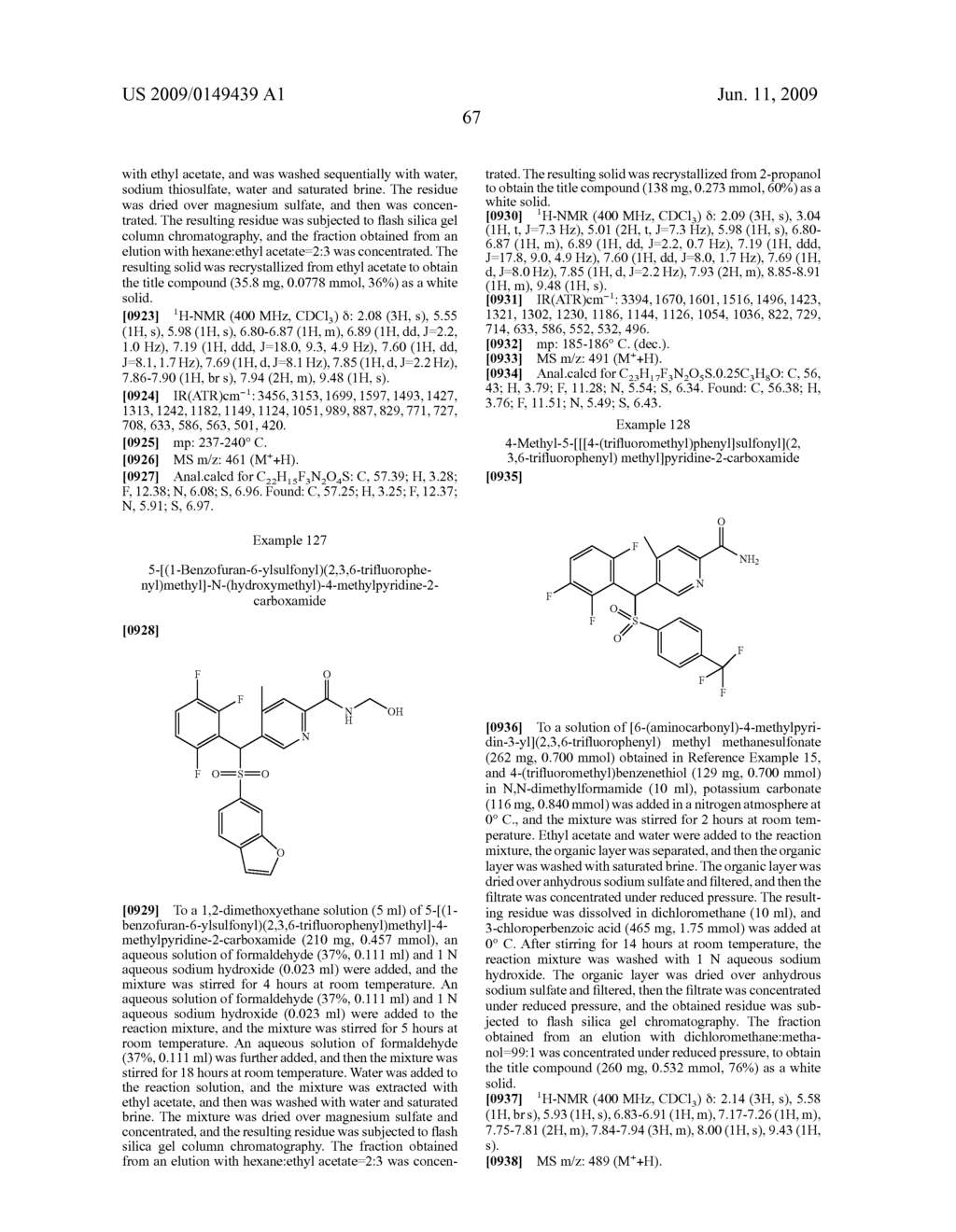 PYRIDYLMETHYSULFONE DERIVATIVE - diagram, schematic, and image 68
