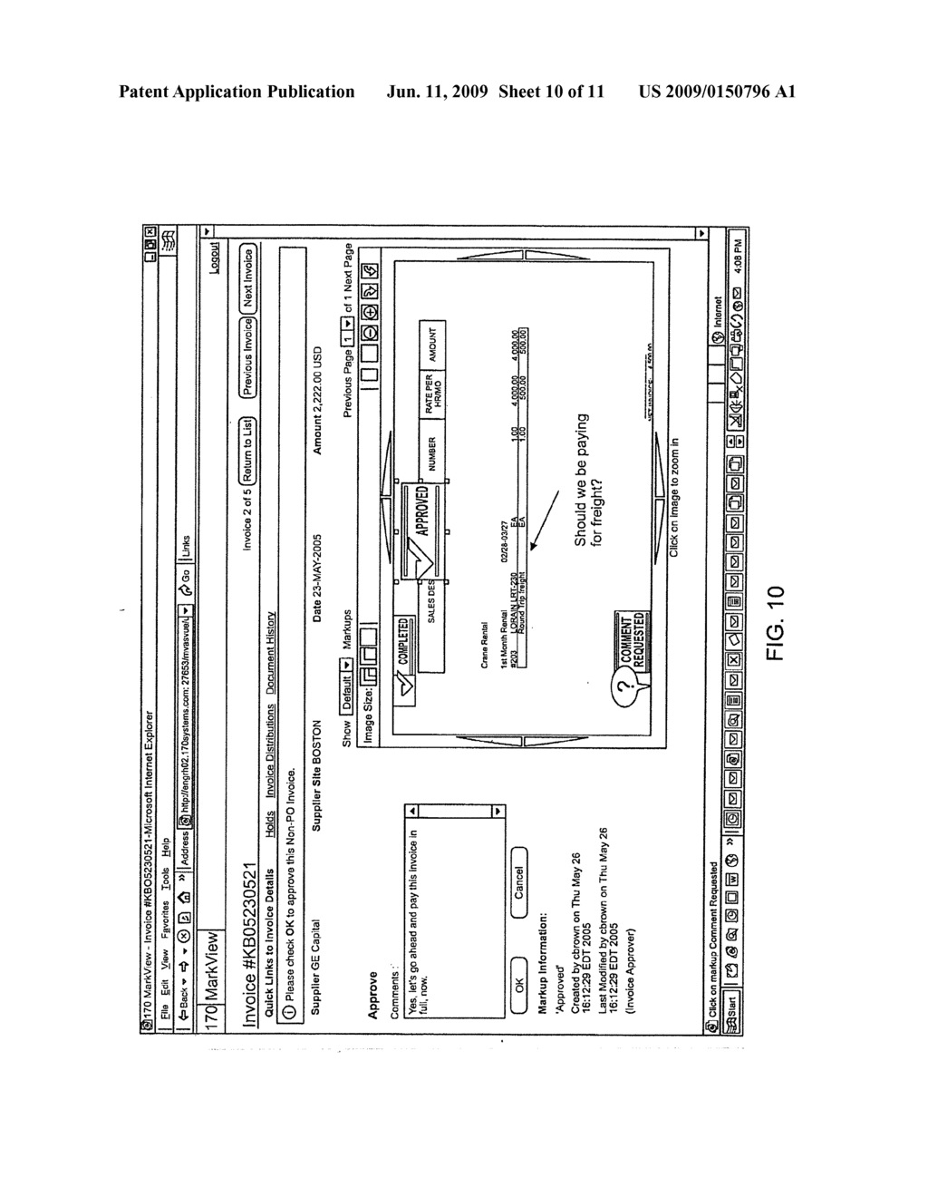 SYSTEM FOR AND METHOD OF PROVIDING A USER INTERFACE FOR A COMPUTER-BASED SOFTWARE APPLICATION - diagram, schematic, and image 11