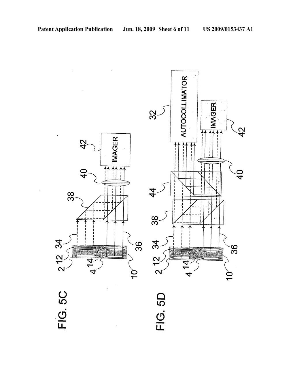 DEVICE AND METHOD FOR ALIGNMENT OF BINOCULAR PERSONAL DISPLAY - diagram, schematic, and image 07