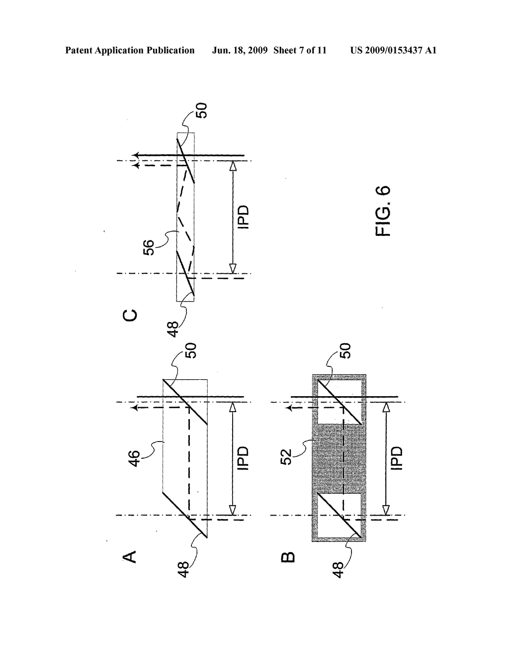 DEVICE AND METHOD FOR ALIGNMENT OF BINOCULAR PERSONAL DISPLAY - diagram, schematic, and image 08