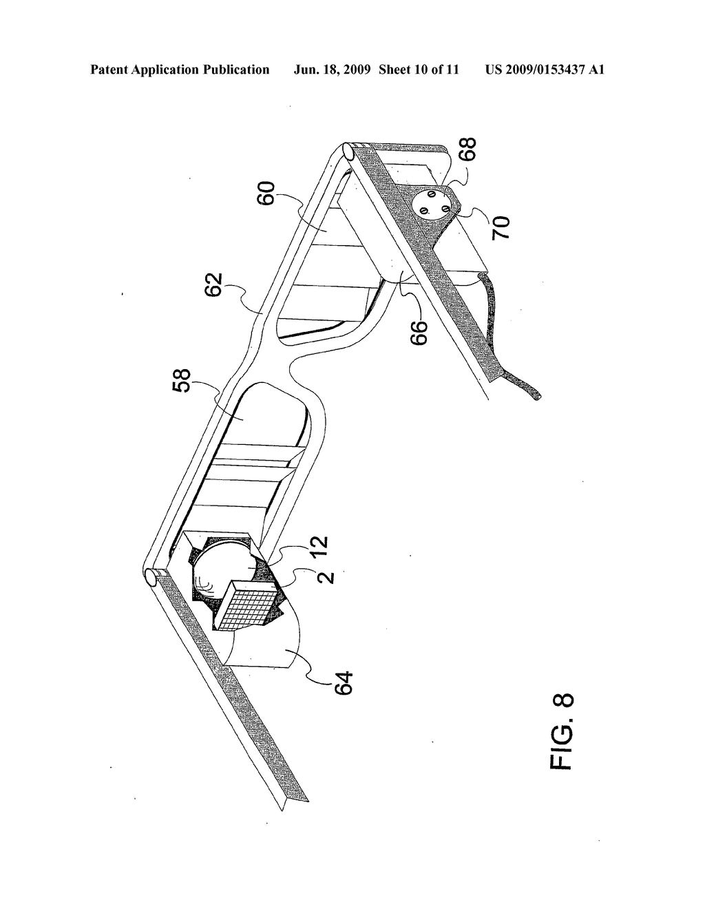 DEVICE AND METHOD FOR ALIGNMENT OF BINOCULAR PERSONAL DISPLAY - diagram, schematic, and image 11