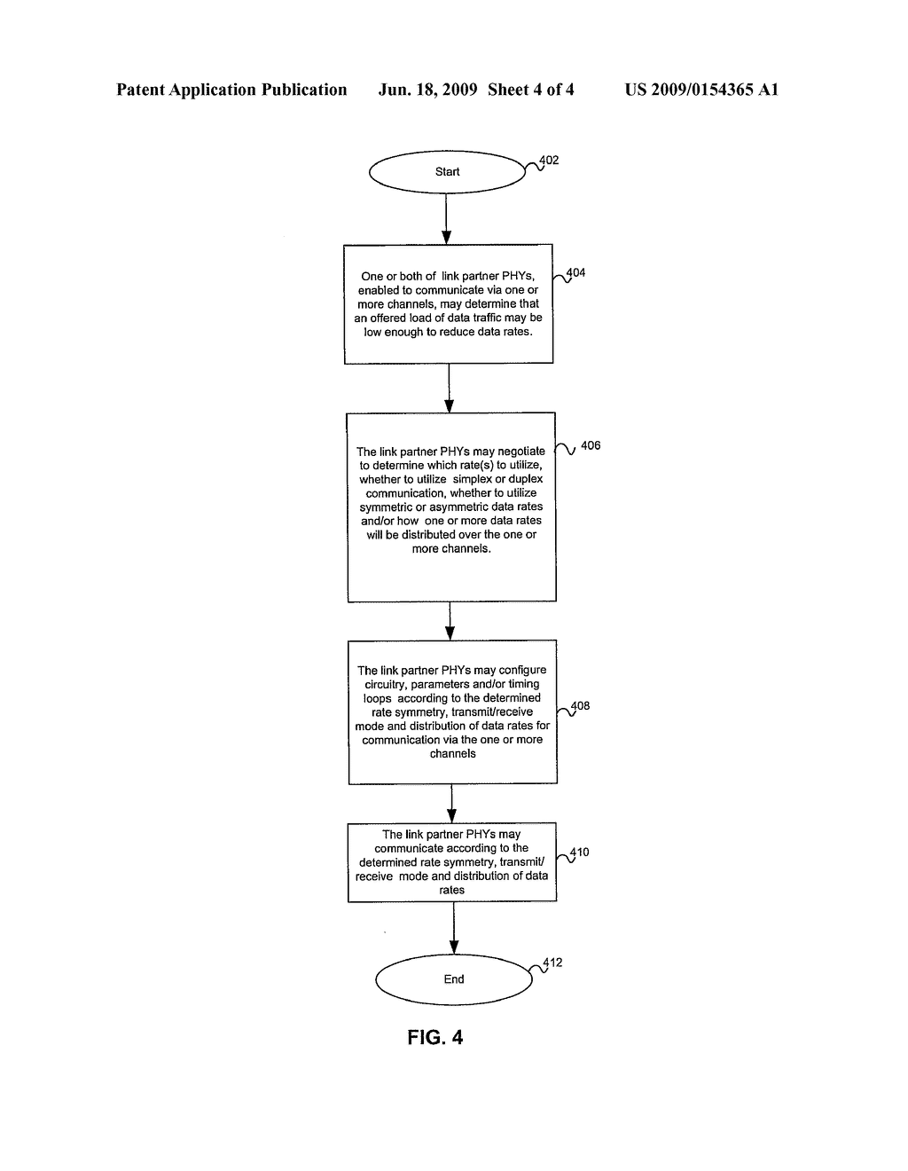 Method And System For Simplex Or Duplex Transmission Mode Of An Ethernet Link In An Energy Efficient Network - diagram, schematic, and image 05