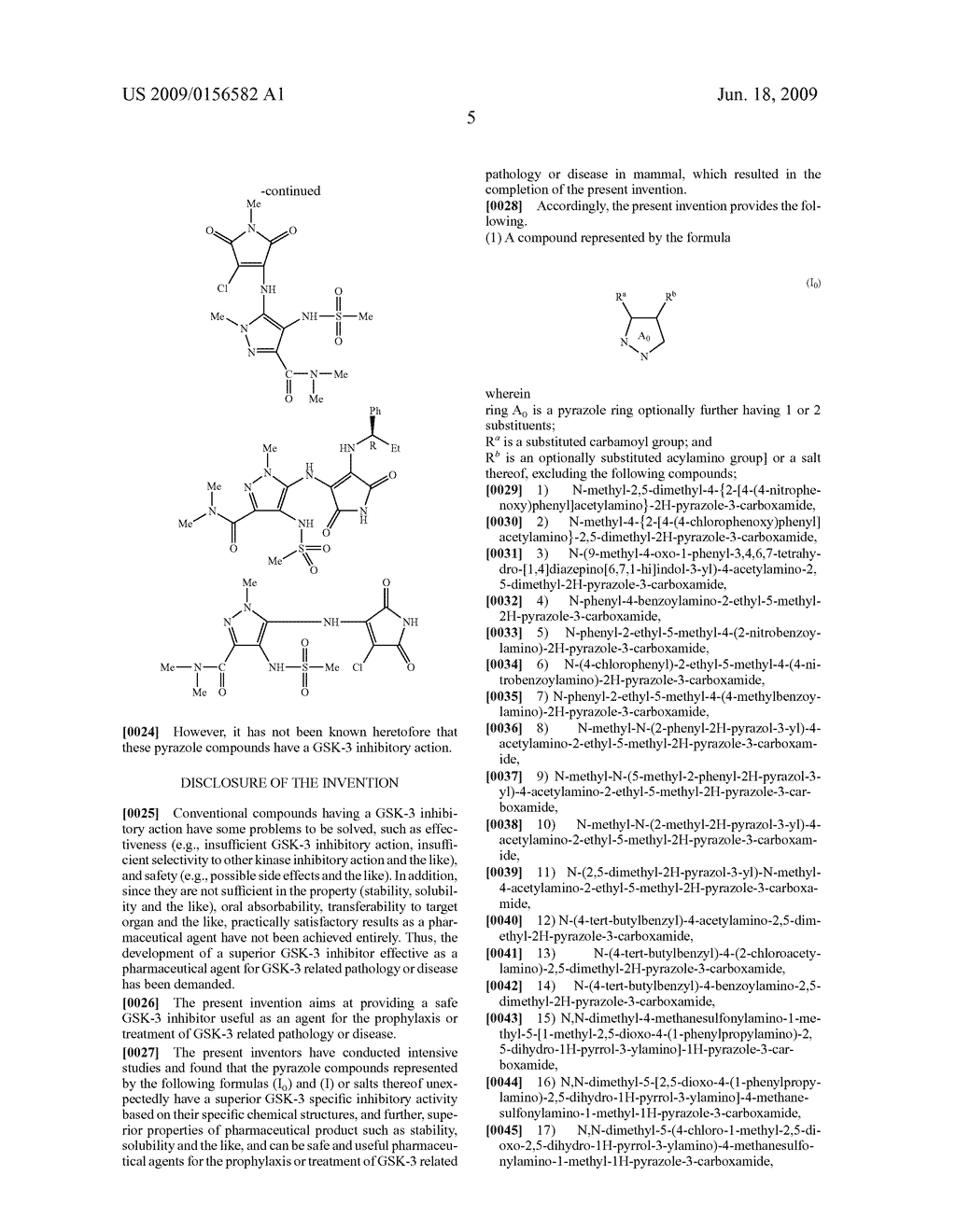Pyrazole Compound - diagram, schematic, and image 06