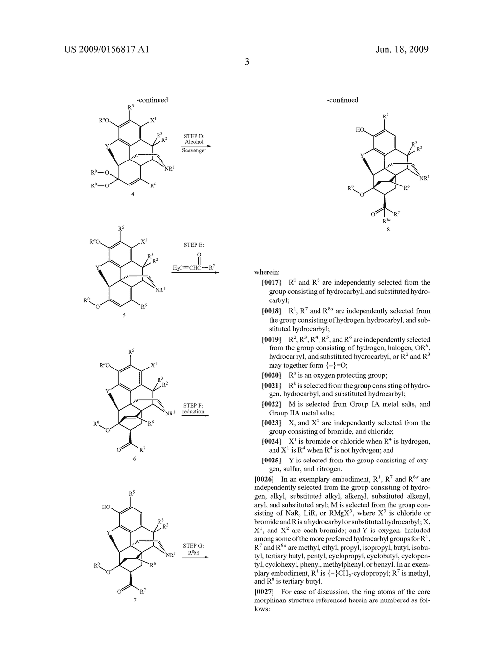 Process for the preparation of buprenorphine and derivatives for buprenorphine - diagram, schematic, and image 04