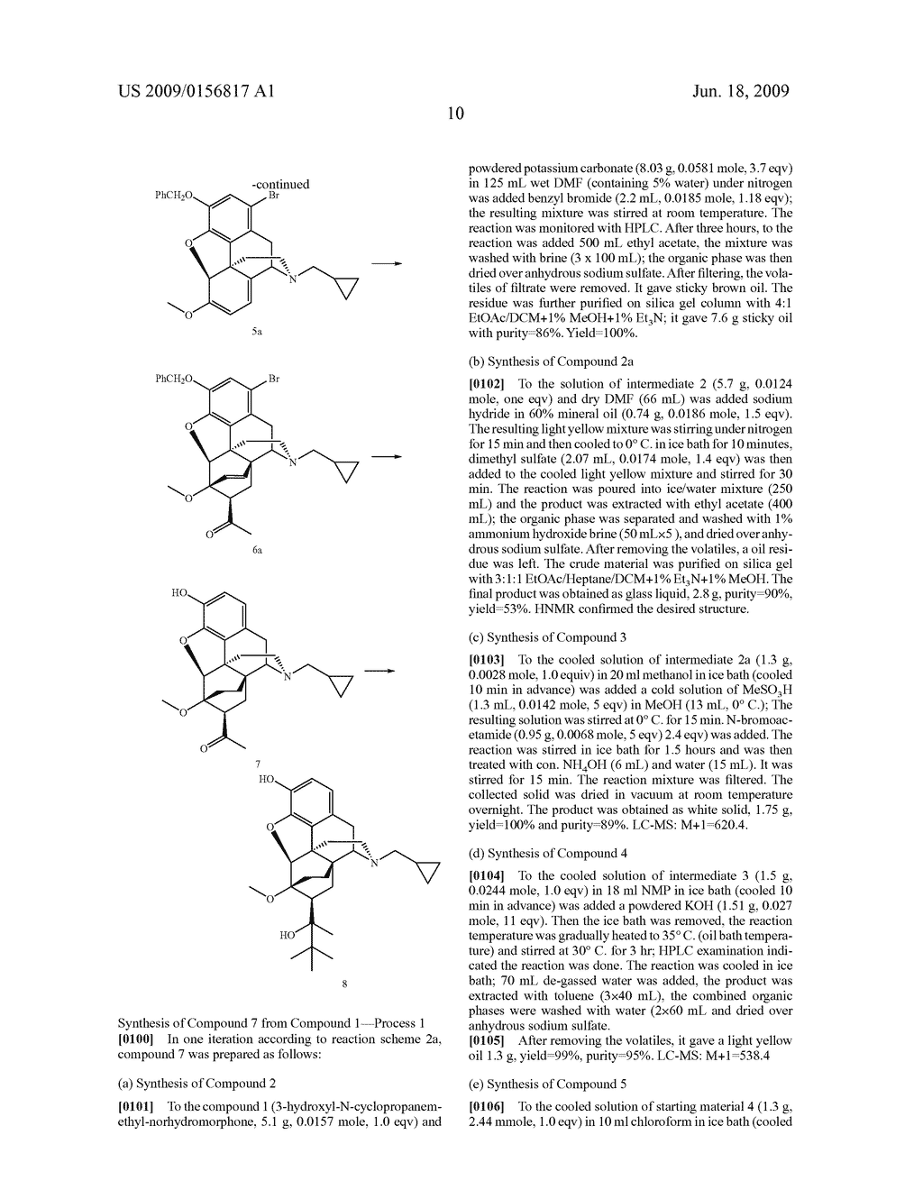 Process for the preparation of buprenorphine and derivatives for buprenorphine - diagram, schematic, and image 11
