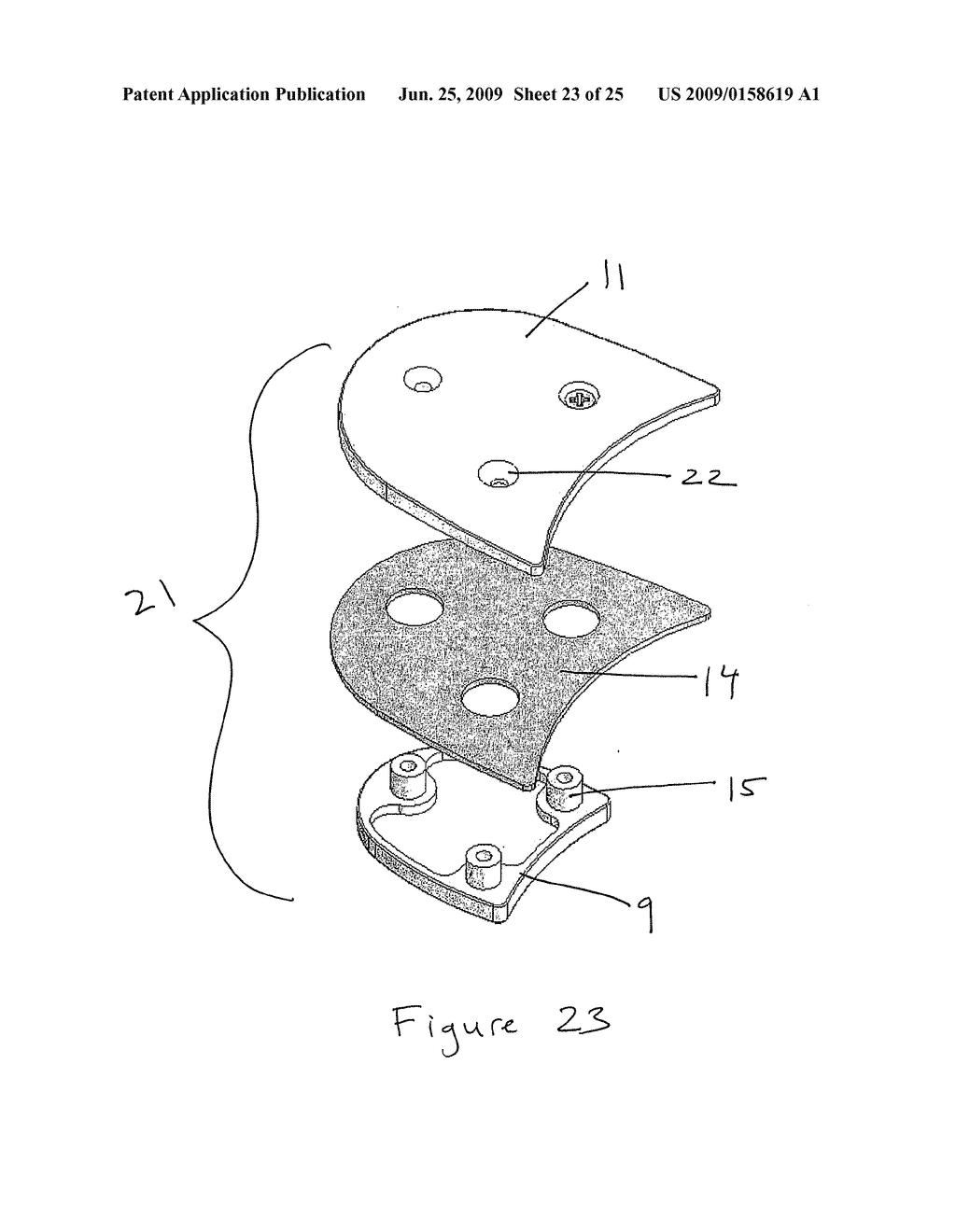 parts of a tap shoe diagram