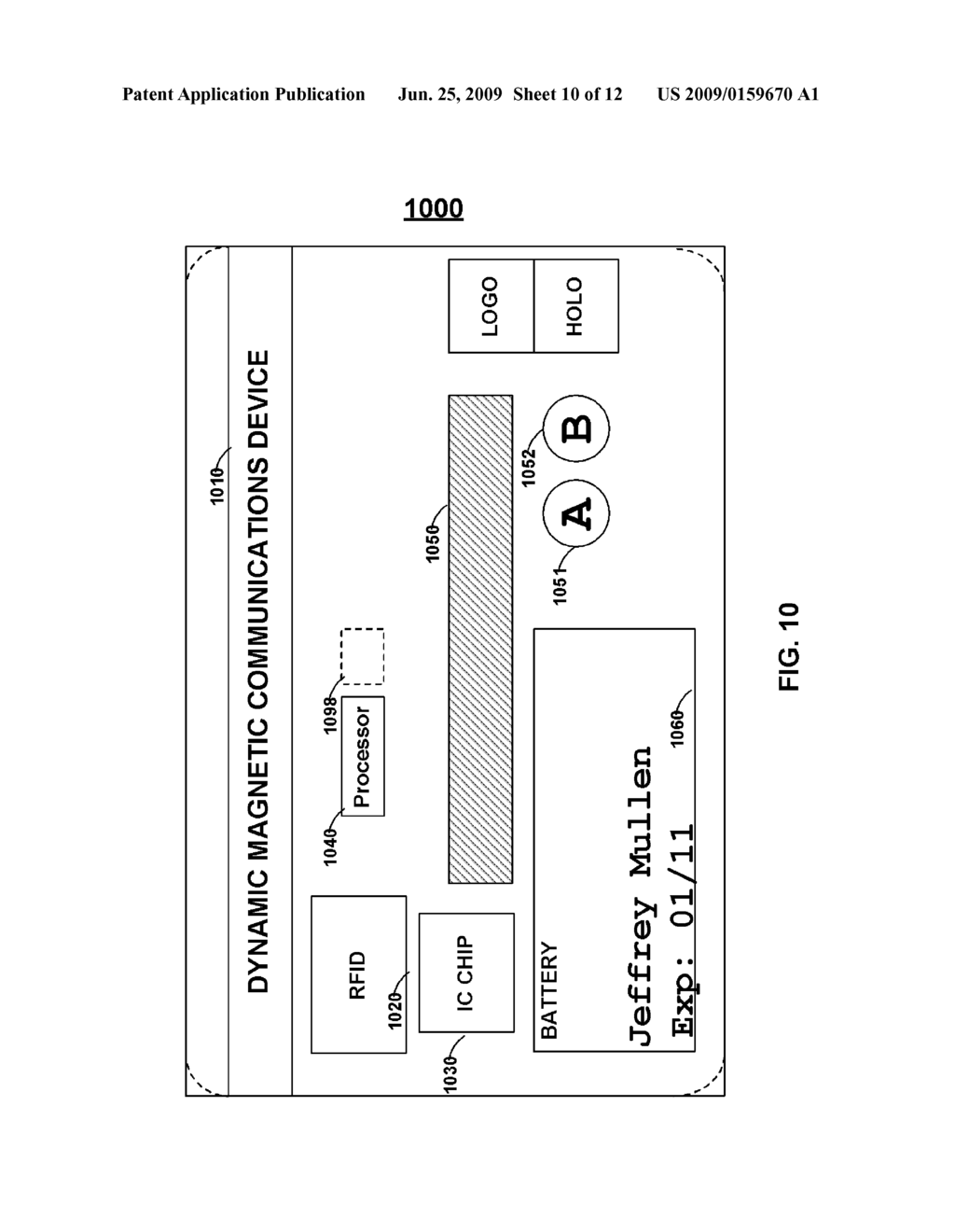 CARDS AND DEVICES WITH MULTIFUNCTION MAGNETIC EMULATORS AND METHODS FOR USING THE SAME - diagram, schematic, and image 11
