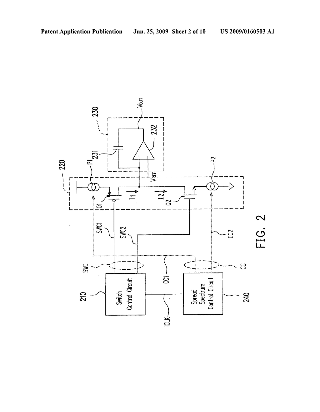 TRIANGLE WAVE GENERATOR AND SPREAD SPECTRUM CONTROL CIRCUIT THEREOF -  diagram, schematic, and image 03