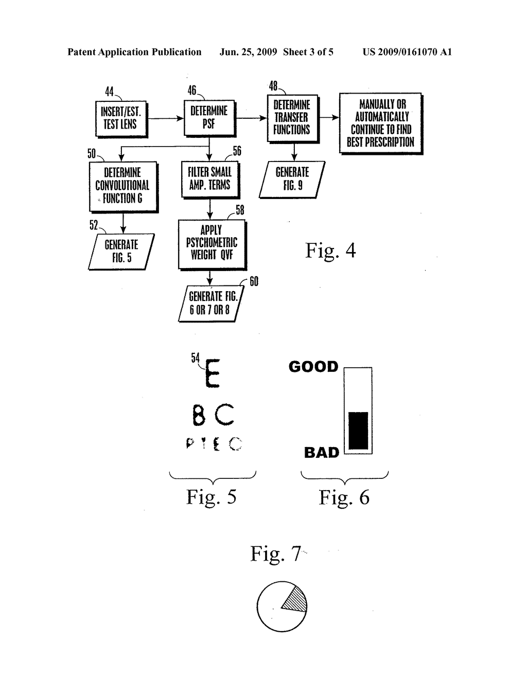 APPARATUS AND METHOD FOR DETERMINING OBJECTIVE REFRACTION USING WAVEFRONT SENSING - diagram, schematic, and image 04