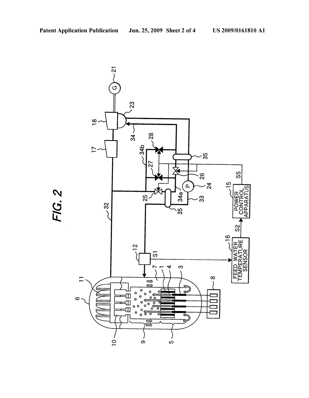 Reactor power control apparatus of natural circulation reactor reactor power control apparatus of natural circulation reactor and method for controlling reactor power of natural circulation reactor diagram schematic pooptronica
