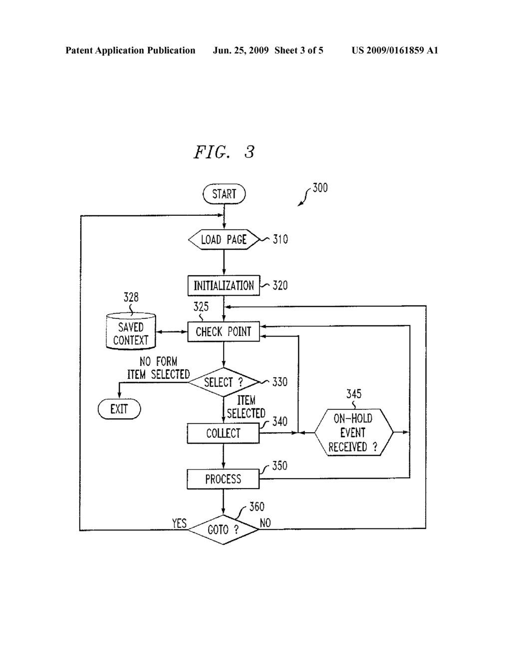 method and apparatus for intelligent processing of suspend and
