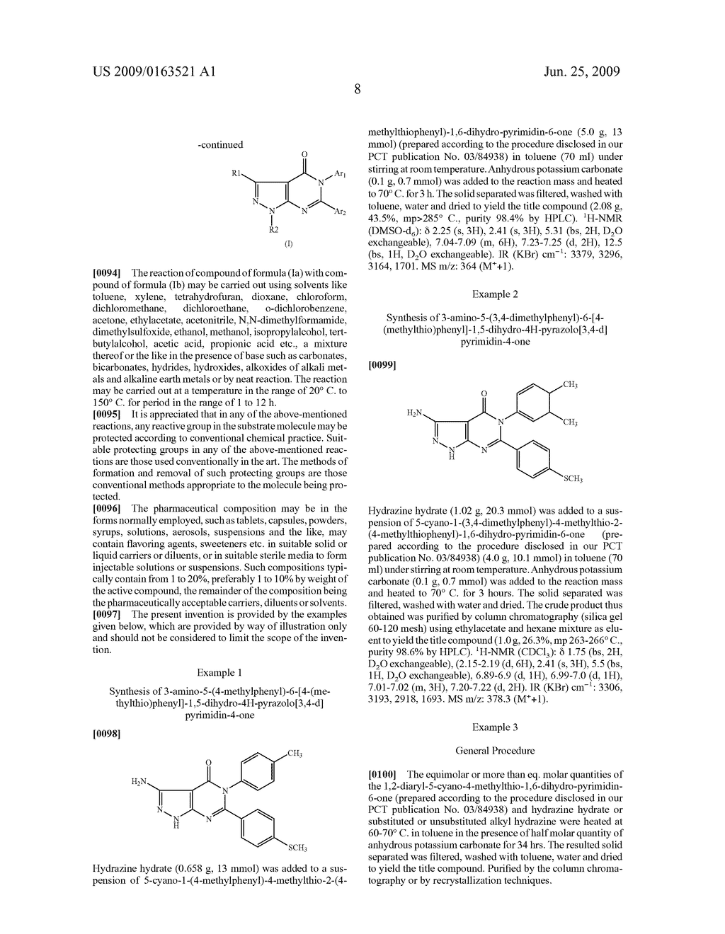 Novel Pyrazolopyrimidinone Derivatives - diagram, schematic, and image 09