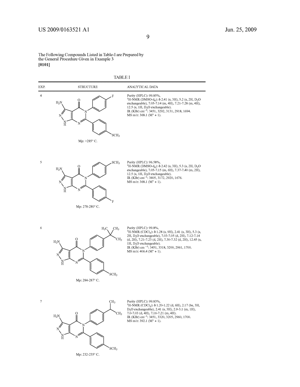 Novel Pyrazolopyrimidinone Derivatives - diagram, schematic, and image 10