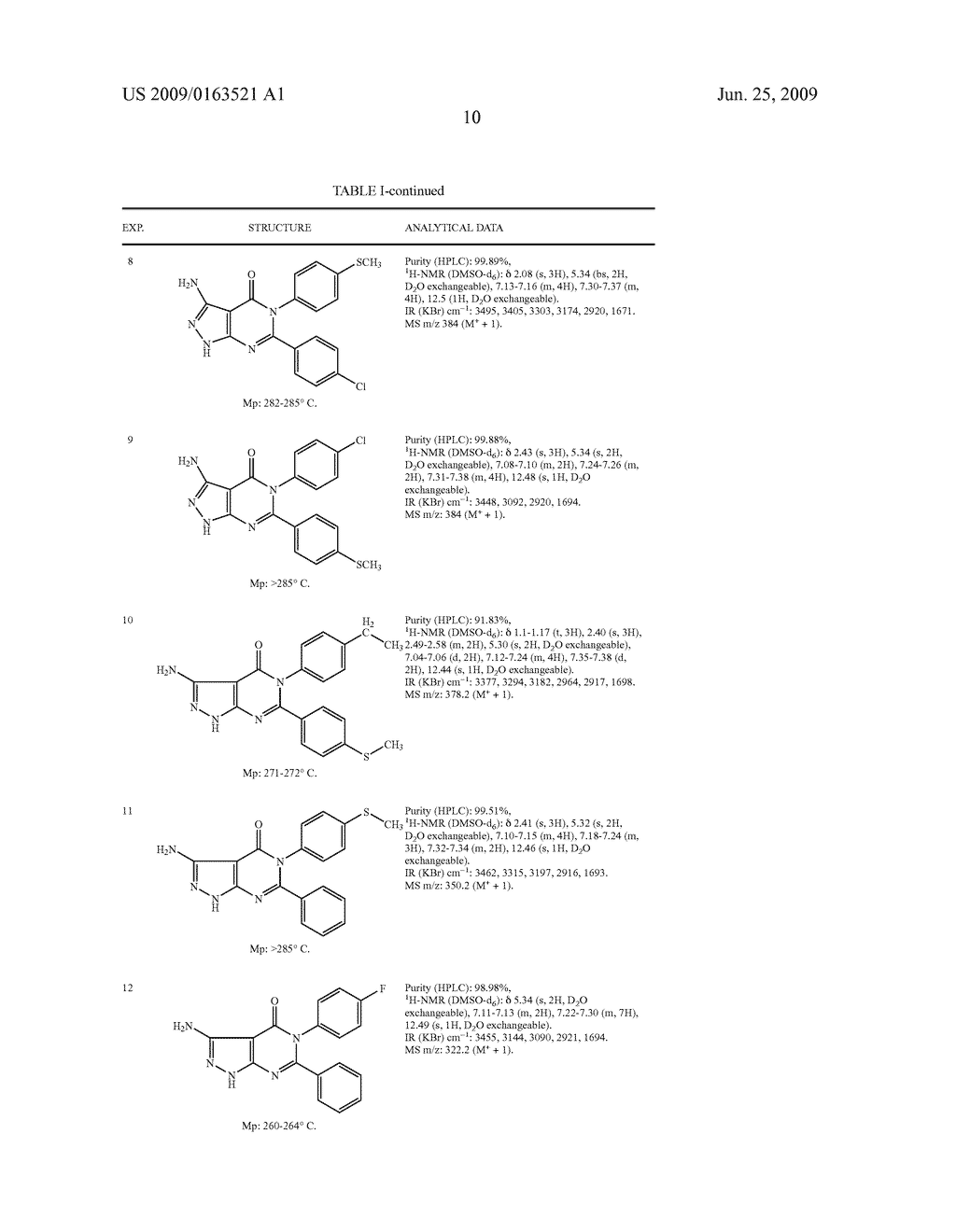 Novel Pyrazolopyrimidinone Derivatives - diagram, schematic, and image 11